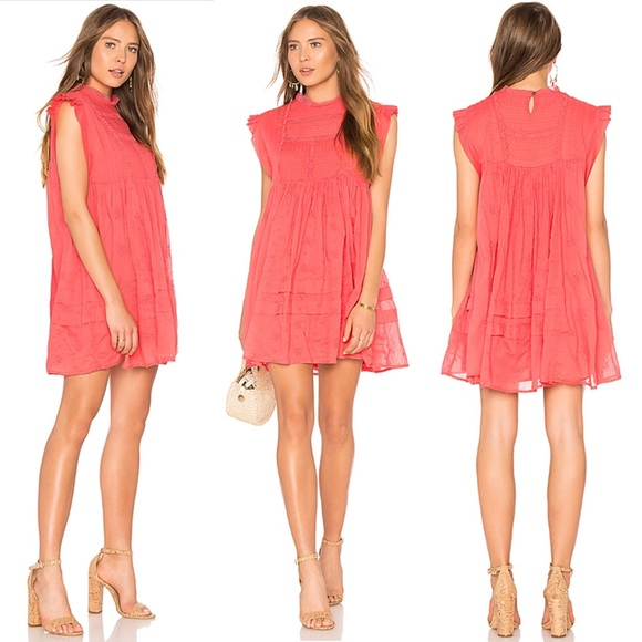 ea3b45862adde Free People Dresses | Nobody Like You Coral Kiss Xs Nwt 148 | Poshmark